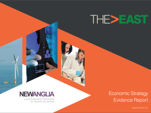New Anglia Local Enterprise Partnership Evidence Report for local strategy