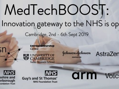 MedtechBOOST event for innovation in the NHS