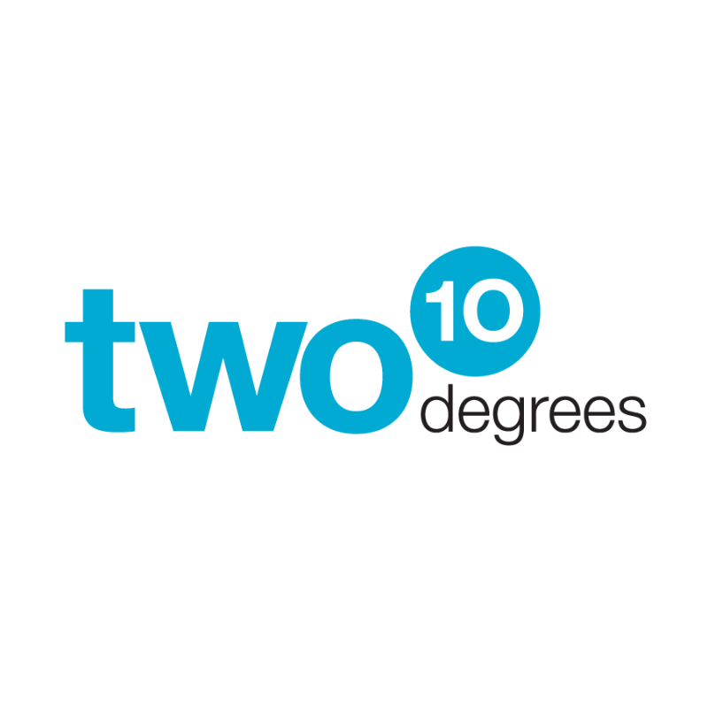 two 10 degrees