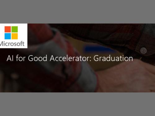 Microsoft AI Graduation Event