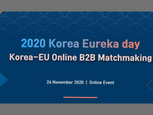 Korea EUREKA Day 2020 - VirtualKorea EUREKA Day 2020 - Virtual Edition Edition
