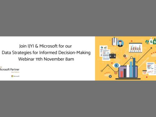 DATA STRATEGIES FOR INFORMED DECISION-MAKING WEBINAR IYJI