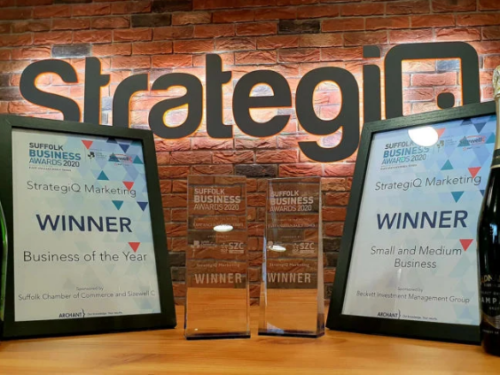 StrategiQ Suffolk Awards