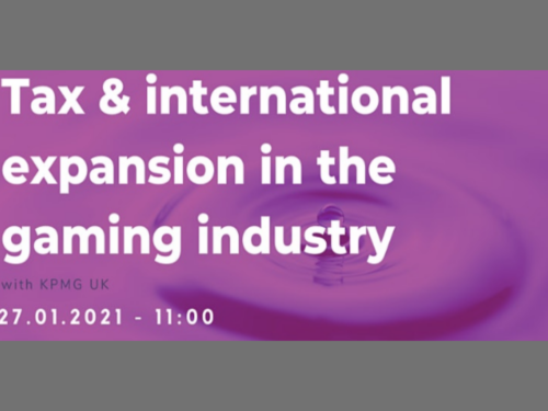 Tax & international expansion in the gaming industry with KPMG UK