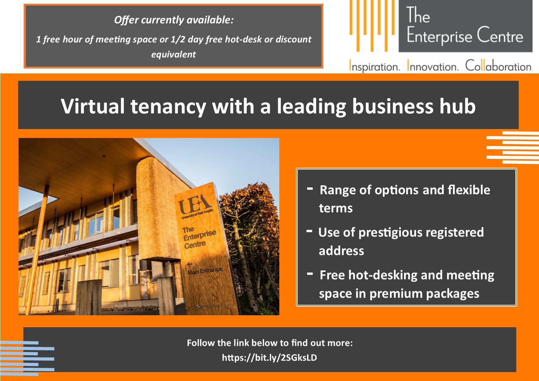 The Enterprise Centre Norwich Virtual Tenancy