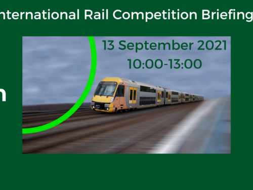 International Rail Competition Briefings 13 September 2021